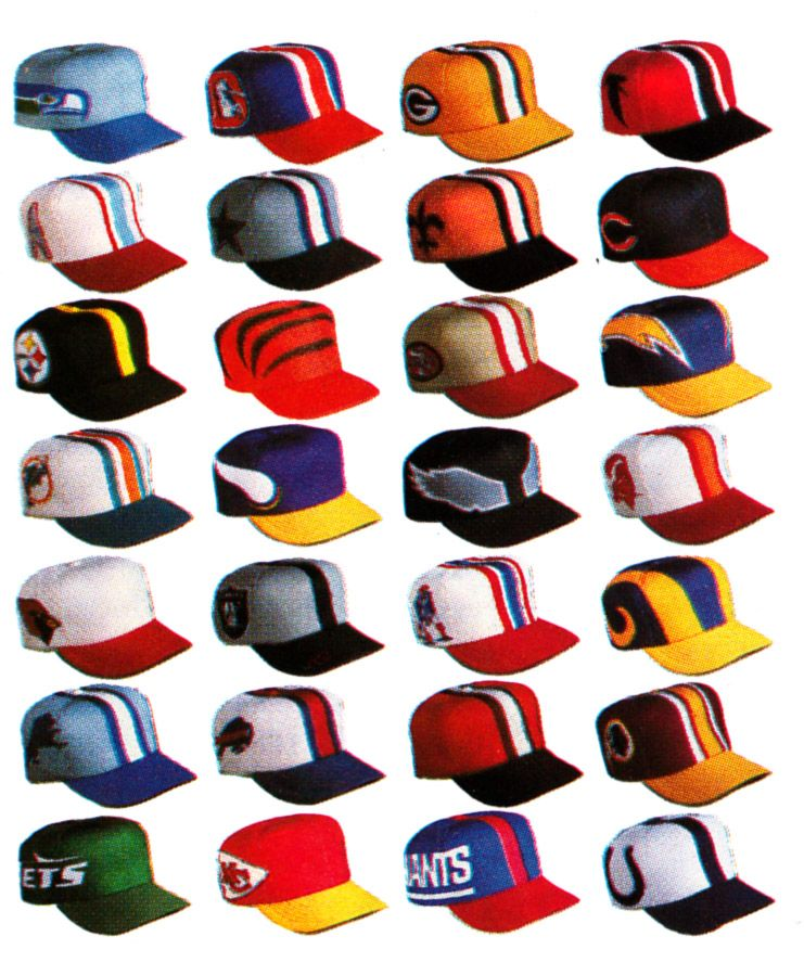These old schools NFL hats look pretty cool!  401c839fdd1