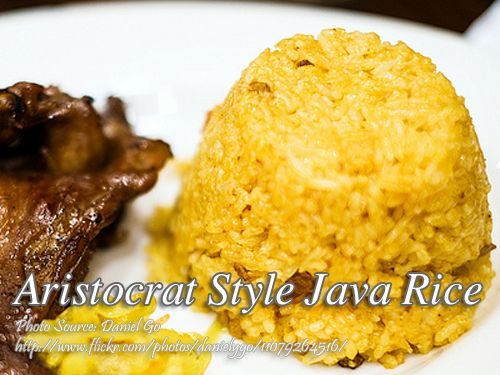 How to cook java rice aristocrat style recipe pinoy java and rice aristocrat style java rice panlasang pinoy meat recipes ccuart Choice Image