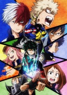 burning series my hero academia