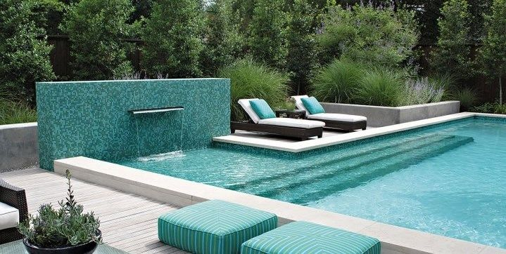 Swimming Pool Tiles - Landscaping Network | House Ideas