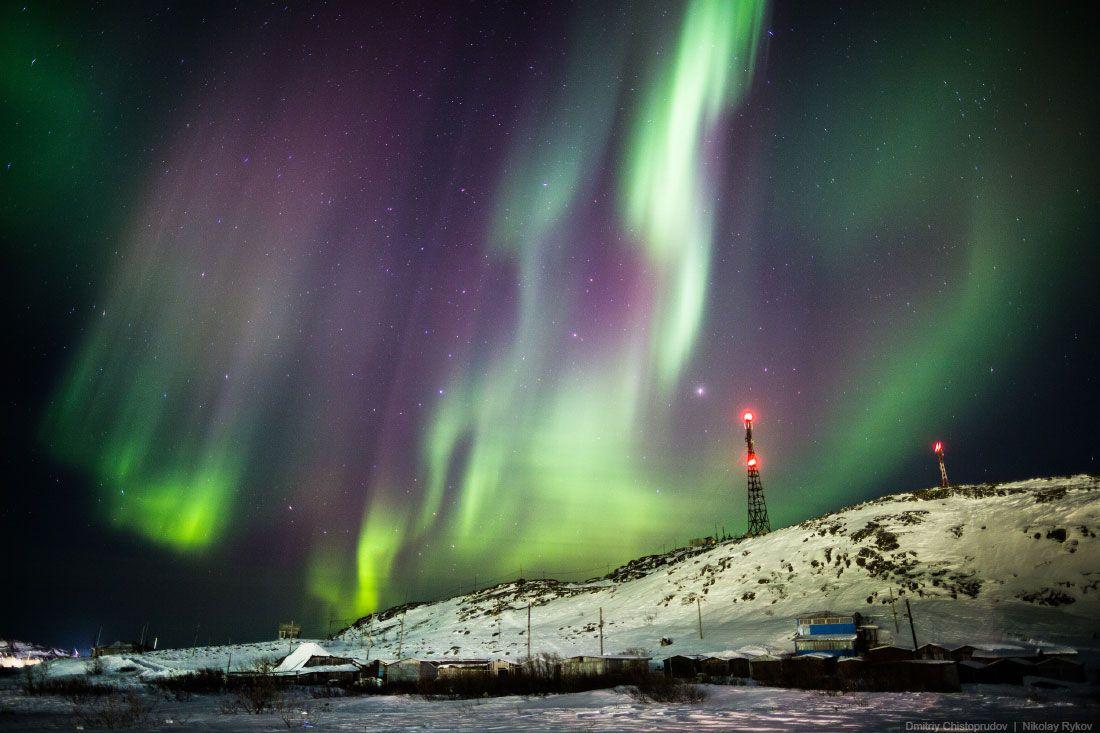 Как поймать полярное сияние? Кольский, часть 1   Полярное ...