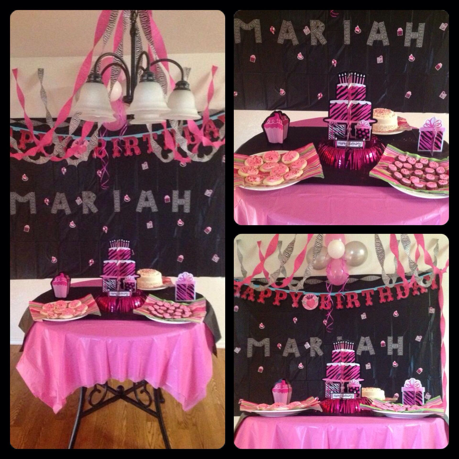 Party ideas Had my 10 year old celebrate her birthday with some