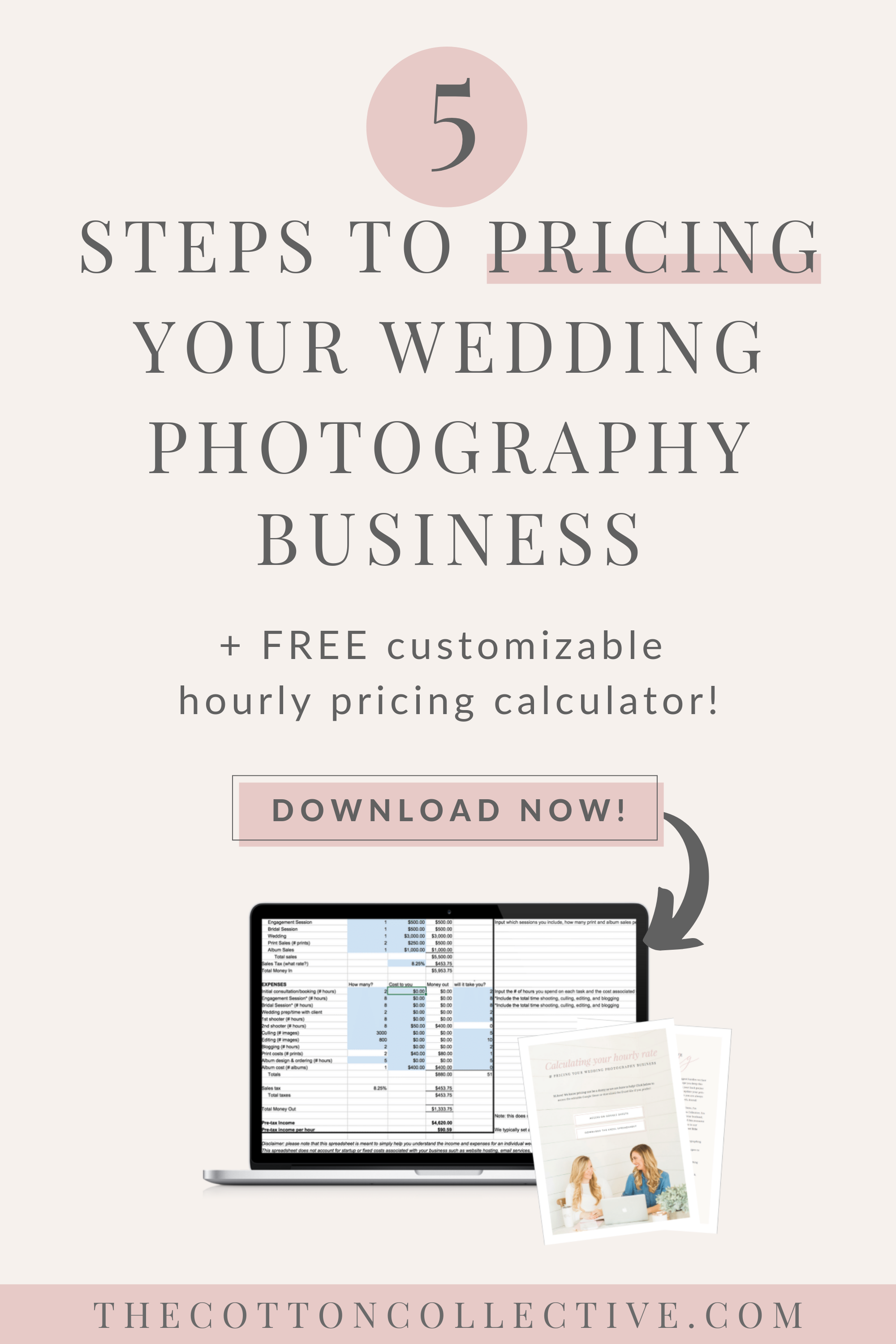 5 Steps to Pricing your Wedding Photography Business As a