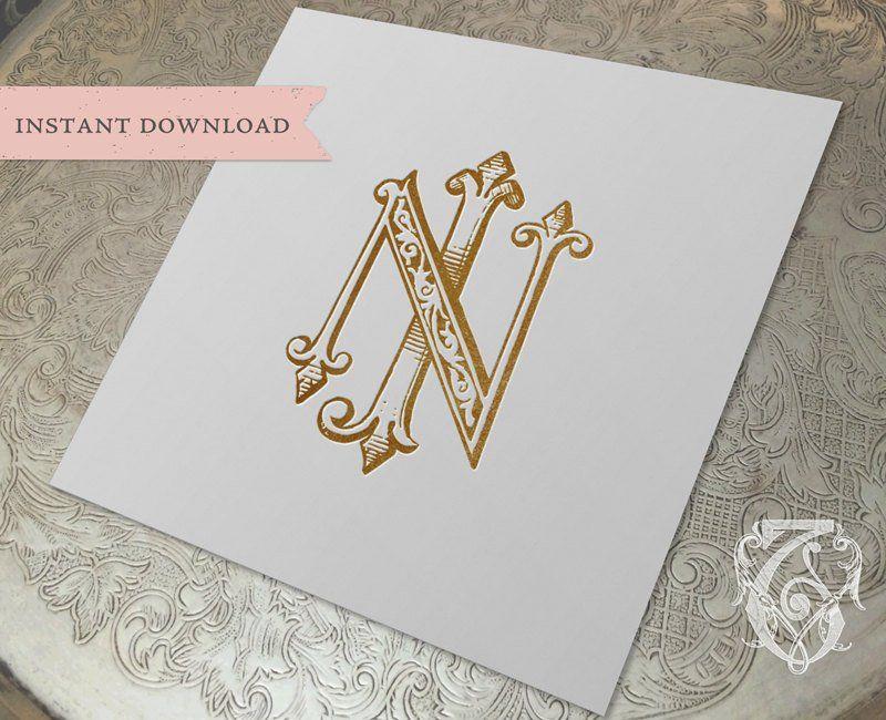 Jn Or Nj Monogram Logo Design Monogram Logo Design Initials Logo Design Logo Design