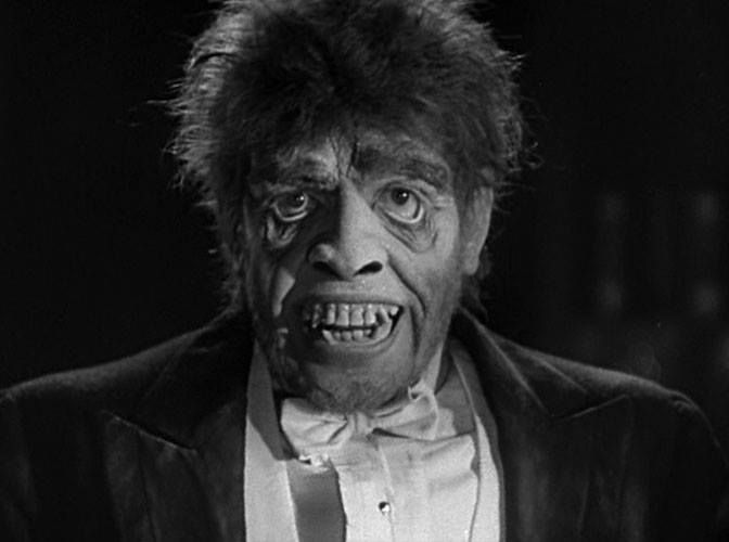 DR. JEKYLL AND MR. HYDE (1931) Special Make Up by Wally Westmore