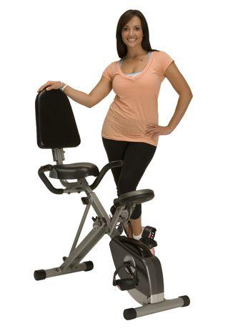Exerpeutic 400xl Folding Recumbent Bike With Pulse Recumbent Bike Workout No Equipment Workout Bike