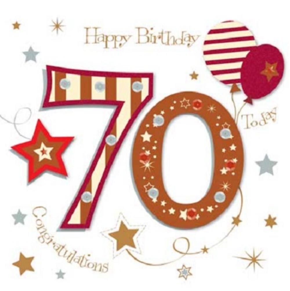 Free Printable 70th Birthday Cards Happy 70th Birthday Greeting Card By Talking 70th Birthday Card Happy 70 Birthday Birthday Cards