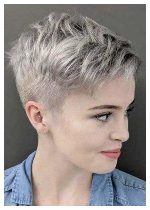 short pixie haircuts edgy