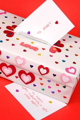 10 Valentines From Parents to Kids  Tissue boxes Wraps and Box
