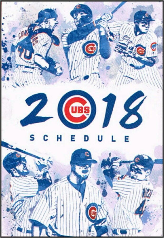 chicago cubs schedule 2018 pdf