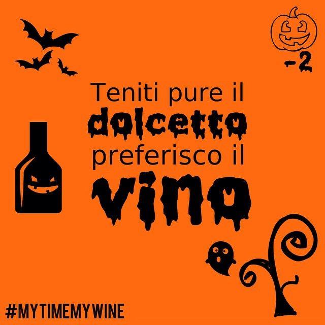 Dolcetto o scherzetto? Noi abbiamo un'alternativa che fa contenti tutti! #MyTimeMyWine #Halloween