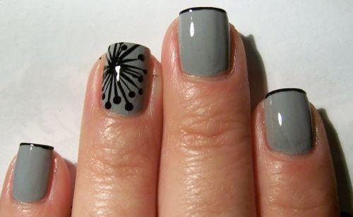 Art deco nail