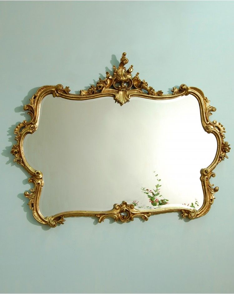 Smallhythe Gold Ornate Wall Mirror
