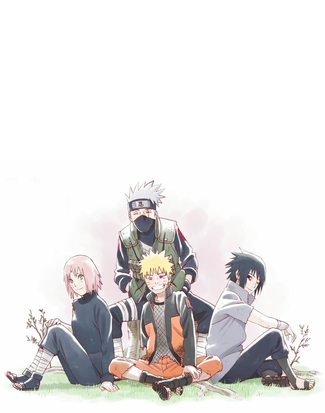 This Was My Wallpaper On My Phone Naruto Sasuke Sakura