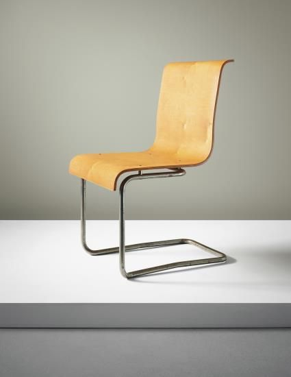ALVAR AALTO Stacking chair model no 23 3 designed for the Paimio