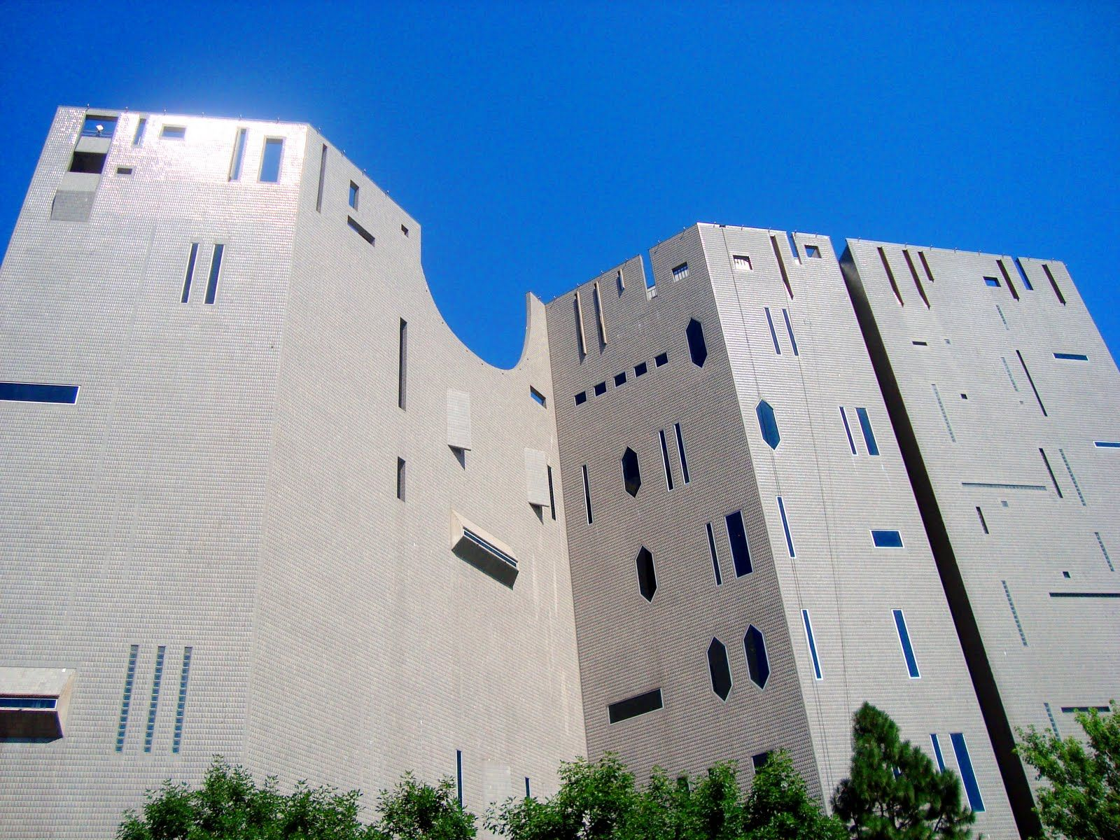 Gio Ponti North Building Denver Art Museum  A Look at
