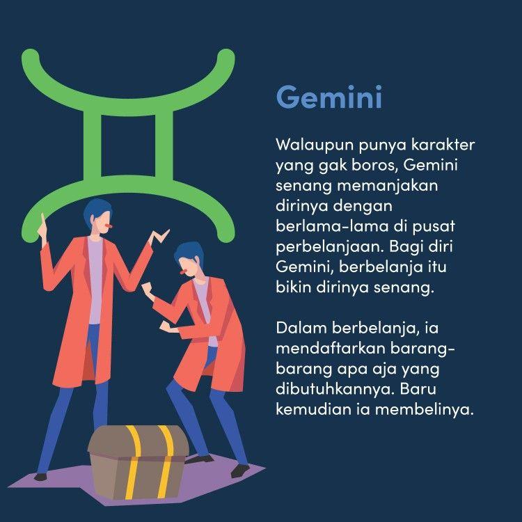 Image result for karakter gemini