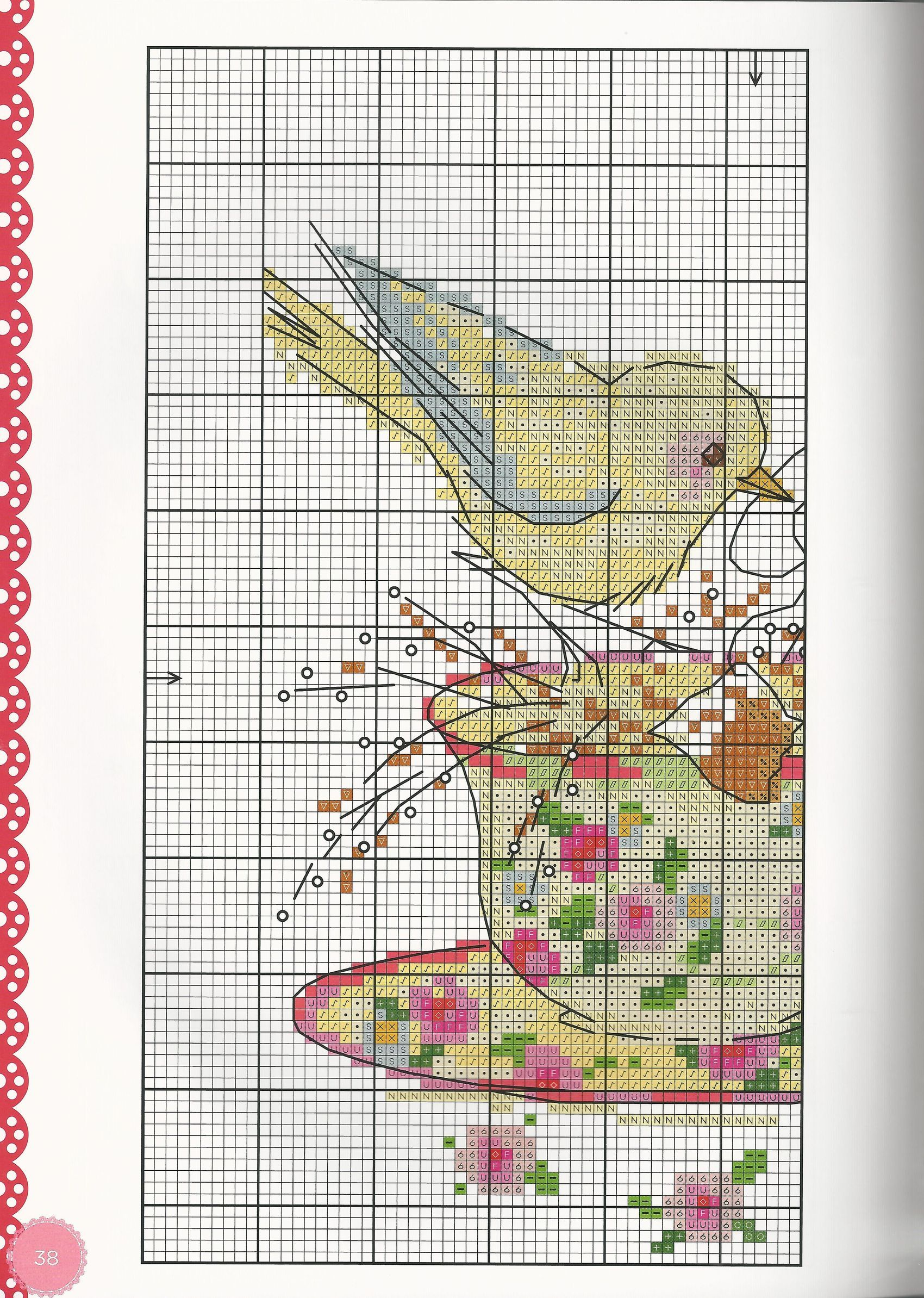 Birds On Tea Cup 1/2