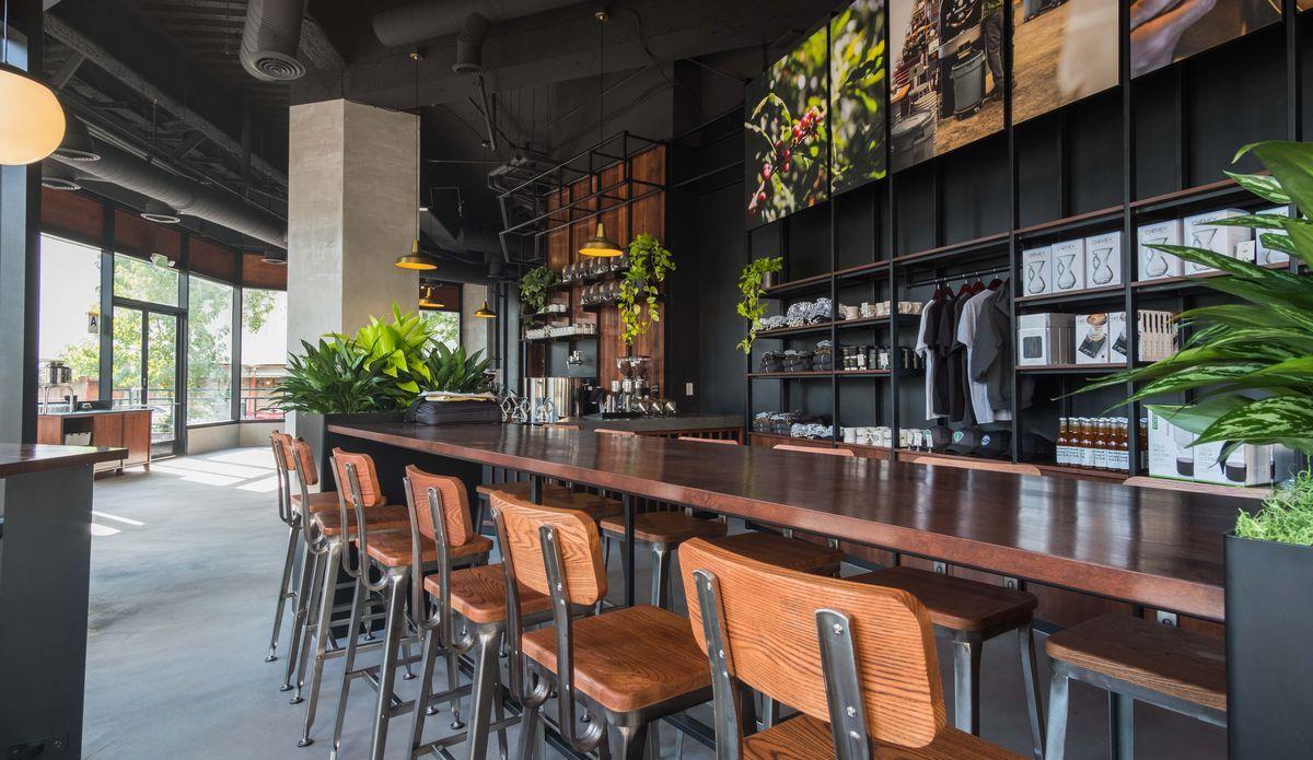 Portland S Coava Coffee Roasters Unveils Downtown Brew Bar Brew Bar Coffee Roasters Burnt Coffee