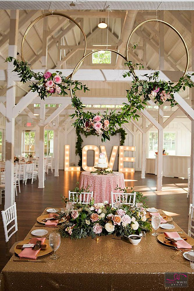 42 glamorous rose gold wedding decor ideas gettin hitched rh pinterest com