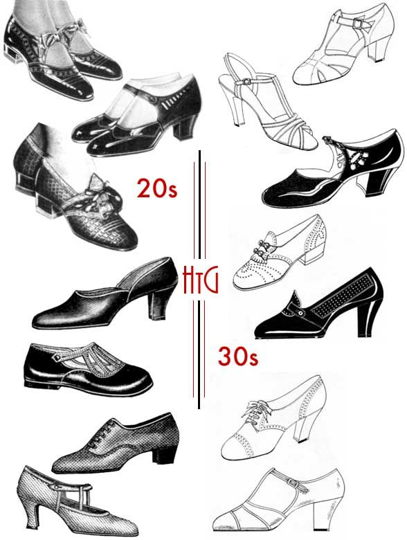 2278a534 1920s Style | 1920s Style | 1920s shoes, 1930s shoes, 1920s fashion ...