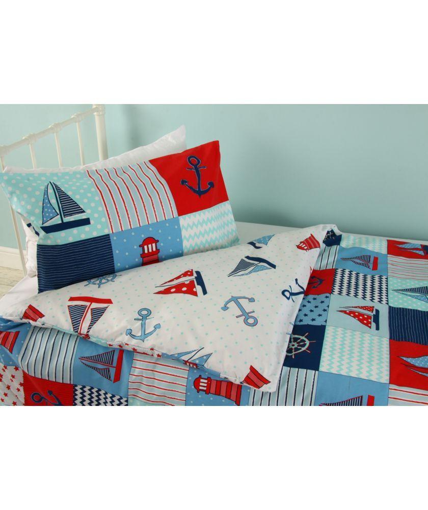 Buy Caravan Nautical Boys Set Single At Argos Co Uk Your Online Shop For Children S Bedding Sets Childrens Bedding Sets Kids Bedding Sets Kids Bedding