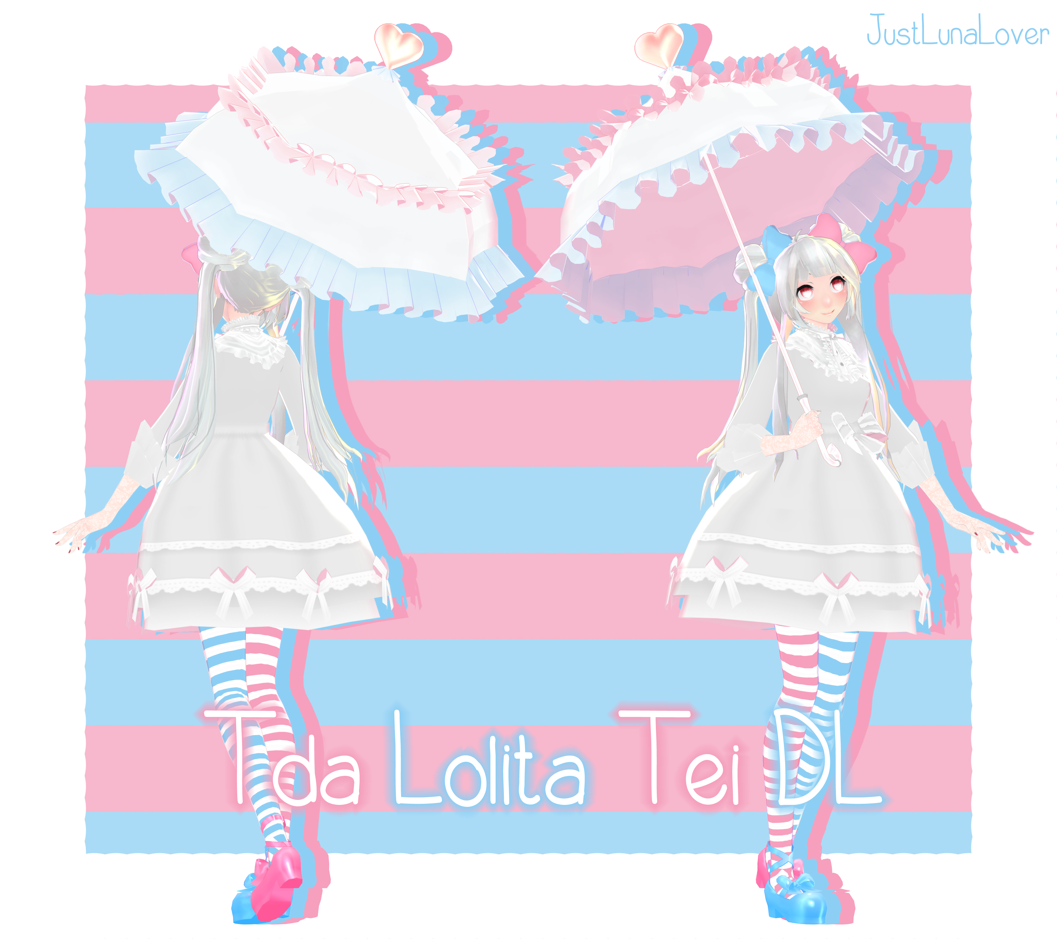 Mmd Tda Lolita Tei Dl Por Luna Panda Amor Nice Dresses Panda