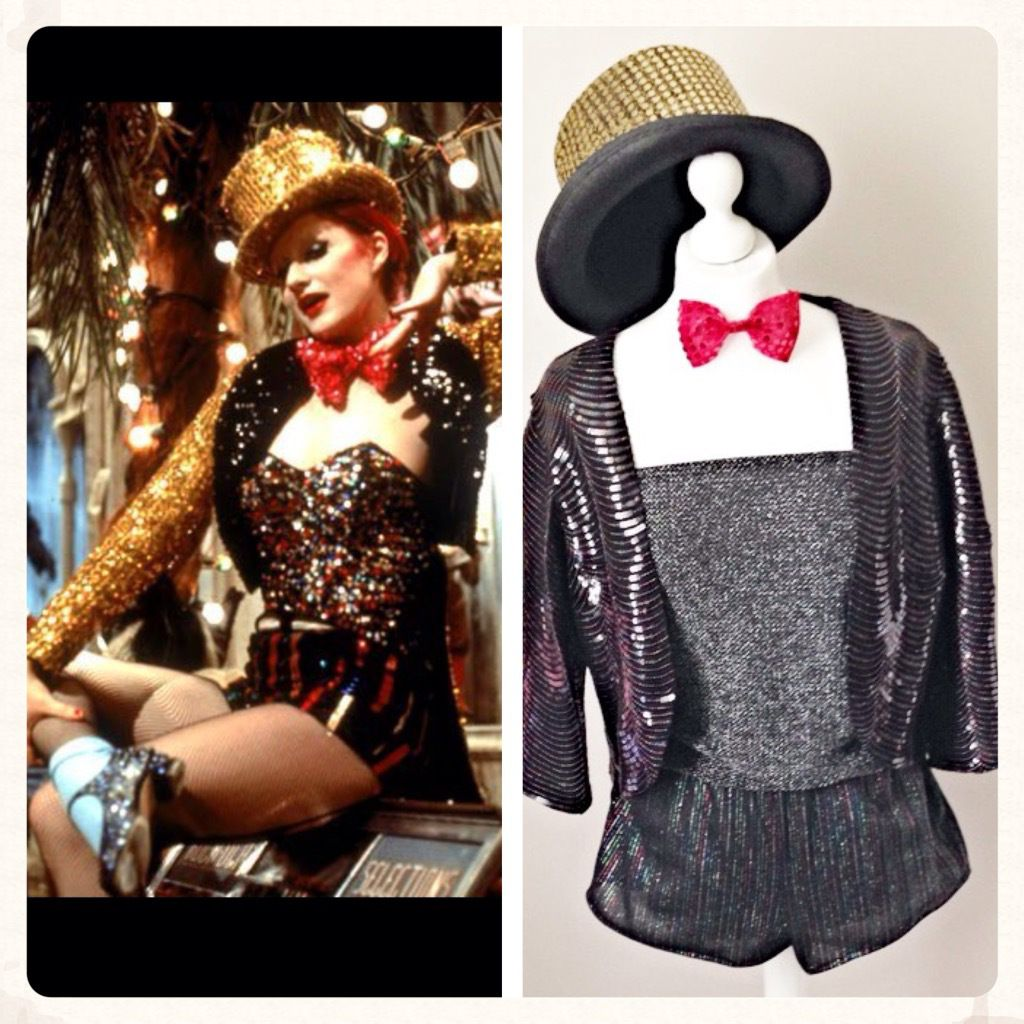 rocky horror picture show. handmade columbia outfit | halloween