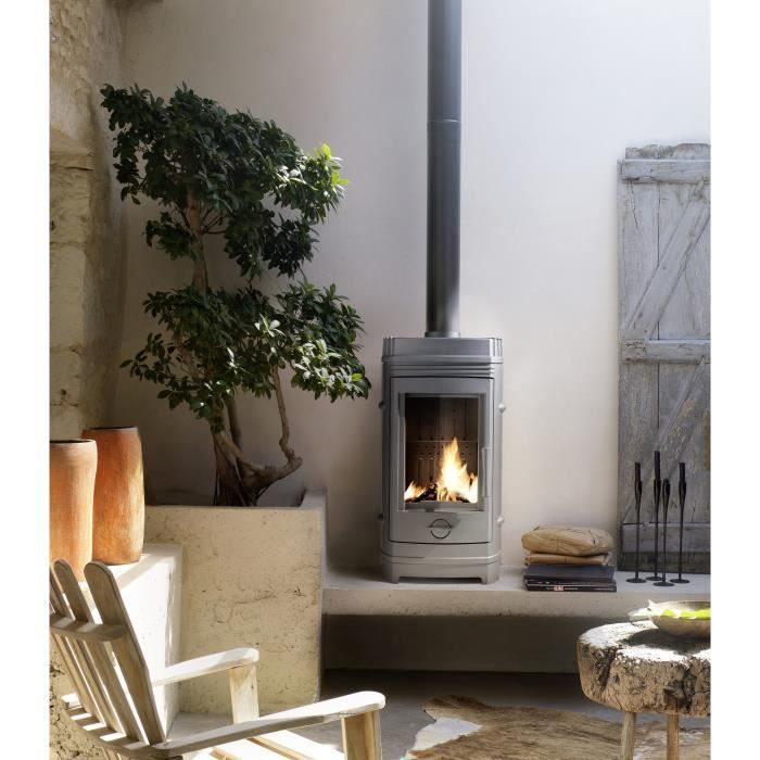 Invicta Poele A Bois Cassine 10 Kw In 2020 Modern Log Burners