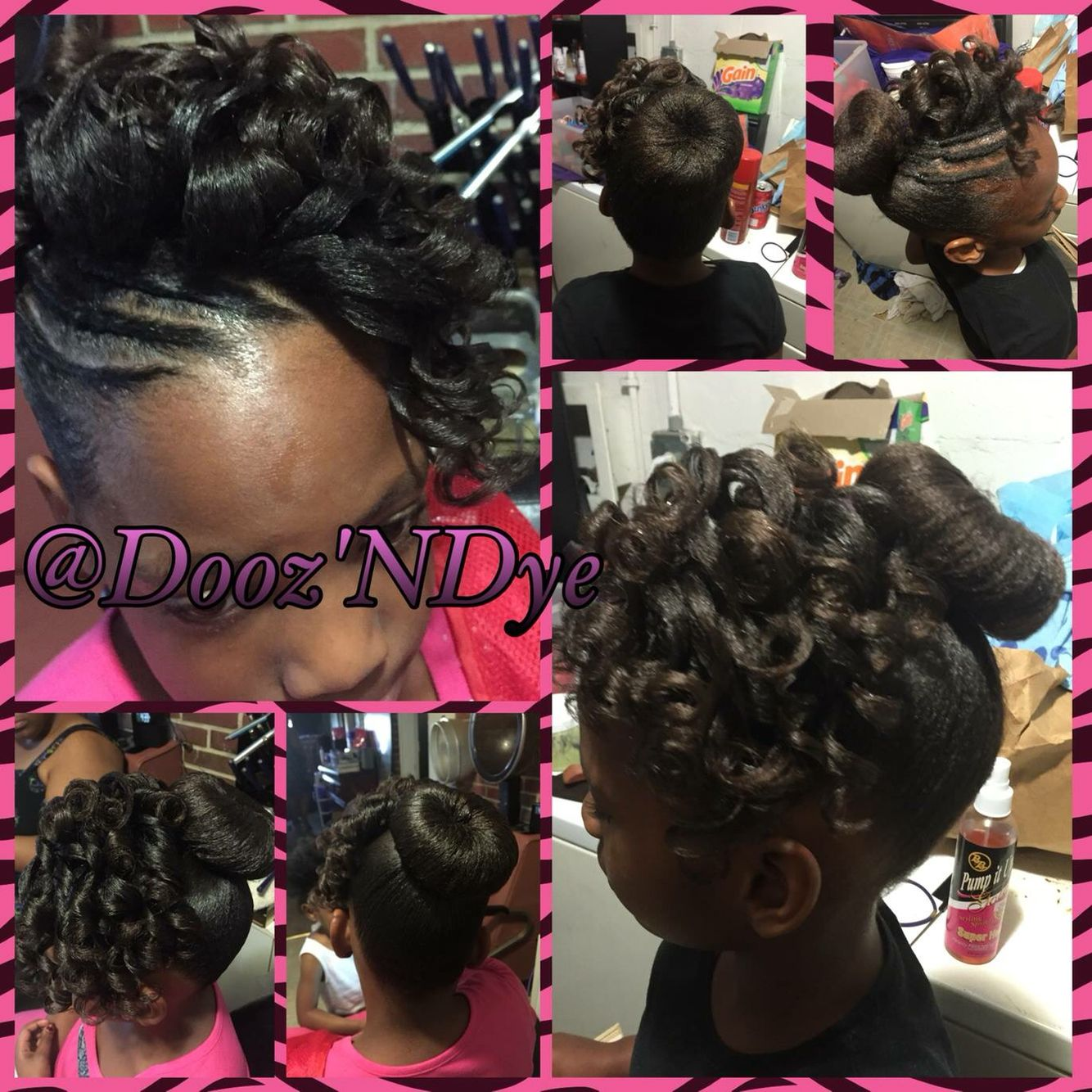 Hairstyles For Children Updo Hairstyles Texturized Hair Black Hair Care Kids Hairstyles Lil Girl Hairstyles Hair Styles