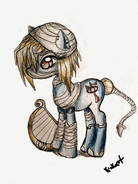 my little pony- sheik by Kinkocat.deviantart.com on @DeviantArt