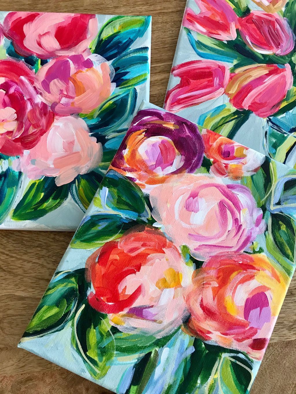 Here Is A Great Beginner Flower Painting Tutorial For Beginner