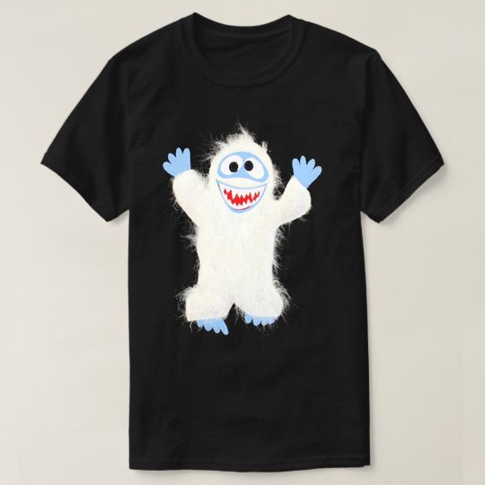 Abominable Snowman Christmas Custom Shirts christmas custom shirts