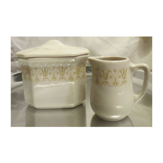 Vintage Syracuse Fine China Cream And By