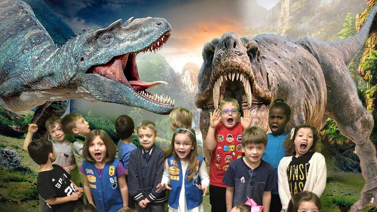 Dawn bonacci on twitter greenscreen dinosaur kids