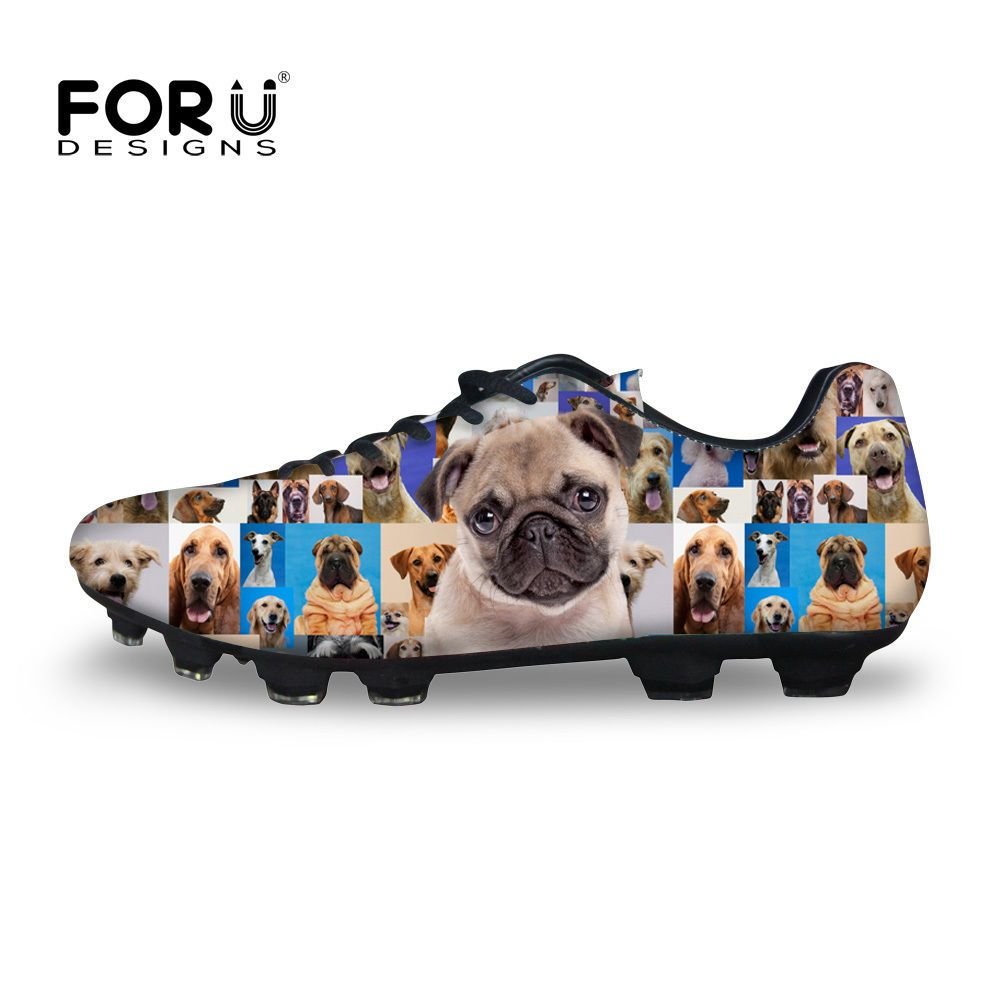 019d46065dda4 Animal Dog Men s Soccer Shoes Cleats Indoor Football Boots Sports ...