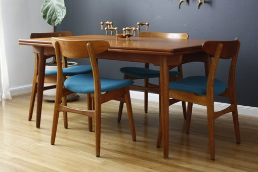 Set Of Four Hans Wegner Ch 30 Dining Chairs Midcentury Modern
