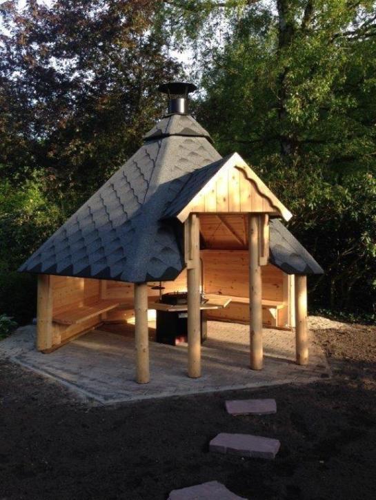 Nieuw Smoky House Grill Kota 9m2 Bbq Hut Bbq Shed Garden Lodge