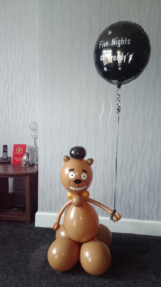 Five nights at freddys balloon party game birthday party for Balloon party games