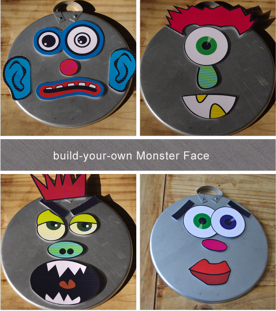 Build Your Own Monster Face Magnets Free Printables