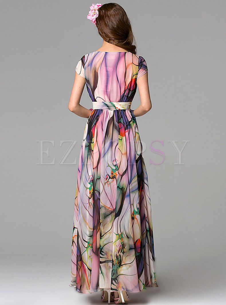 359304d7c7b2 Summer Sleeveless Bohemian Maxi Dress in 2019