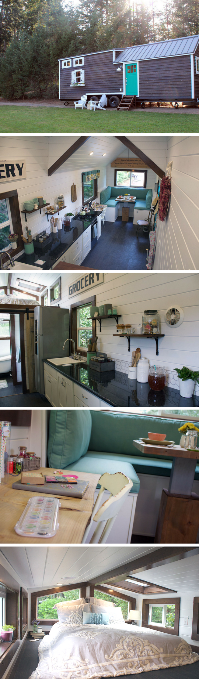 The sapphire house from tiny heirloom tiny house town - The Southern Charm Tiny House From Tiny Heirloom