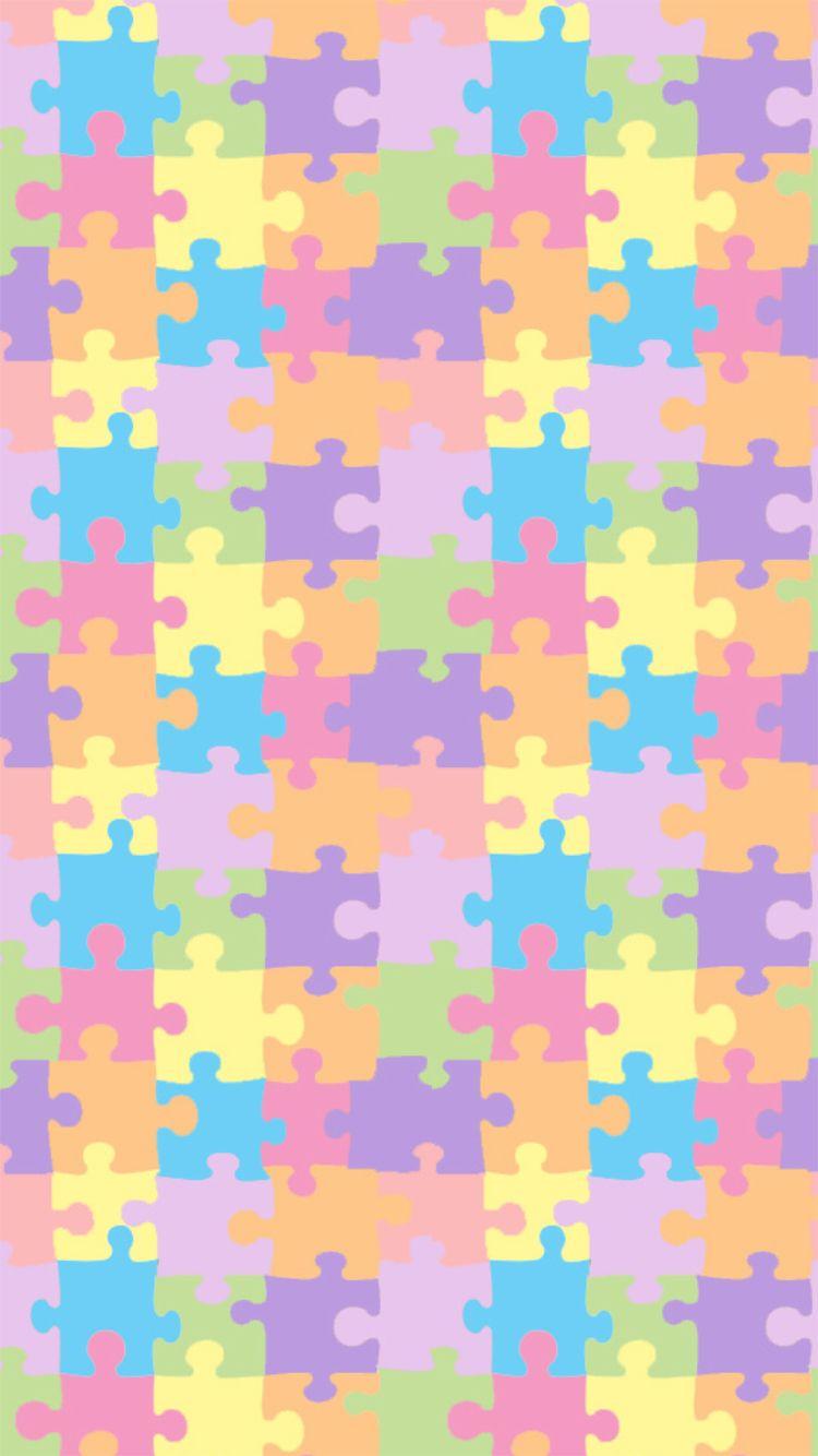 Puzzle Wallpaper IPhone 6
