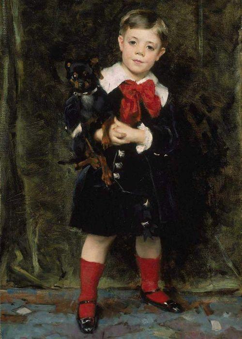 Robert de Cevrieux von John Singer-Sargent, 1879