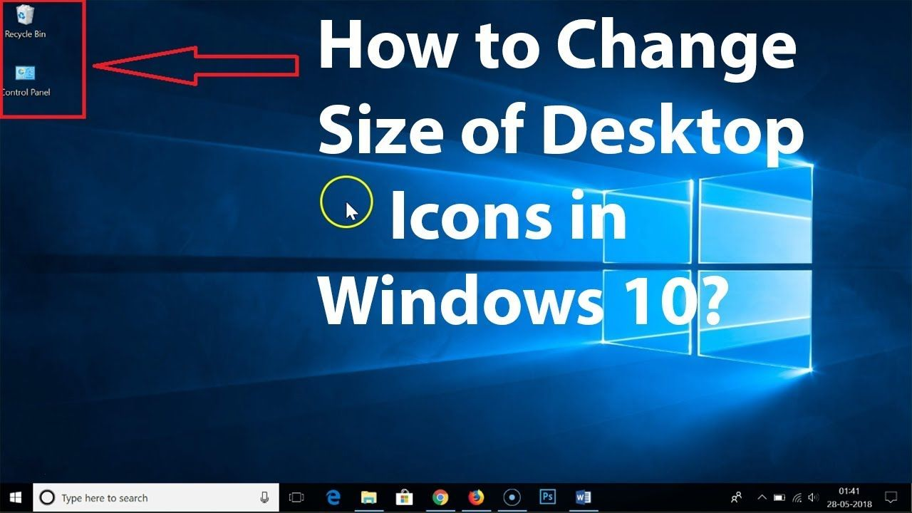 how to change font type on desktop icons windows 10