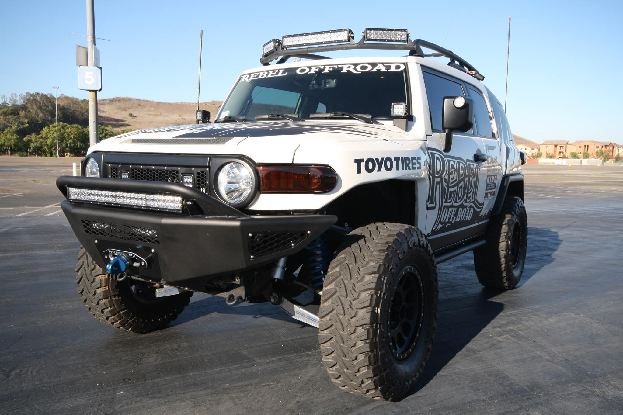 One of our dealers Rebel Offroad with the Toyota FJ Cruiser