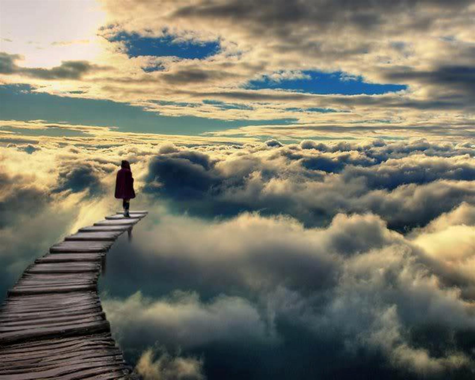 Обои Облака, необыкновенно, Пейзаж, яркие тона. Природа foto 3