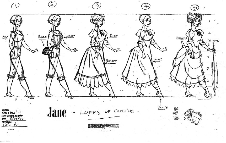 "Character Design Walt Disney : ""tarzan walt disney animation studios website"