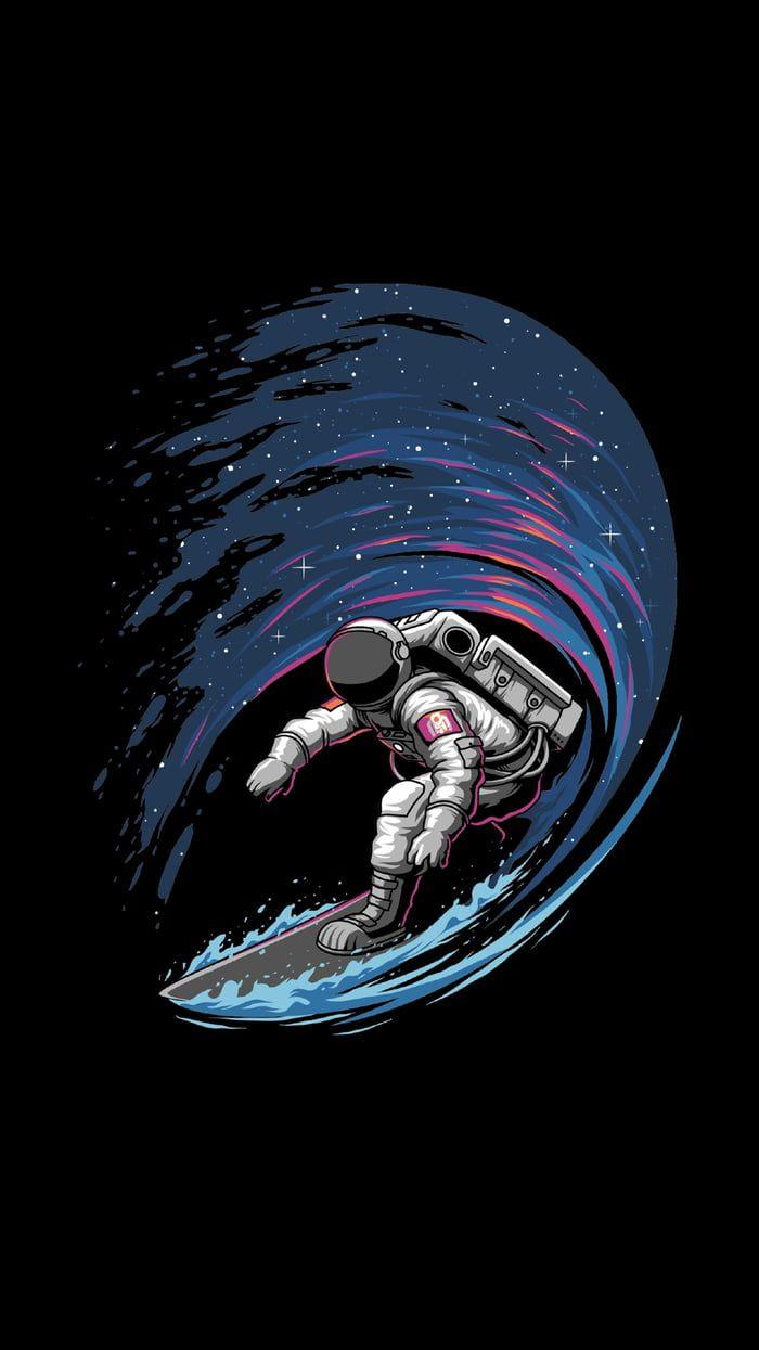 Space Surfer Nel 2019 Spazio Sfondi Per Iphone Sfondi Per