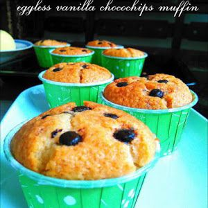 Resep Eggless Vanilla Chocochip Muffin Istimewa Dan Sangat Lembut Di 2021 Resep Kue Makanan Manis Makanan